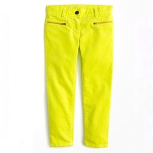 Crewcuts Toothpick Stretch Cords size 12 Yellow